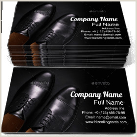 Unique Business Cards For Shoe Store ✅ Business Card Examples For Create Custom Design