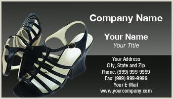 Unique Business Cards For Shoe Store Shoes Business Cards