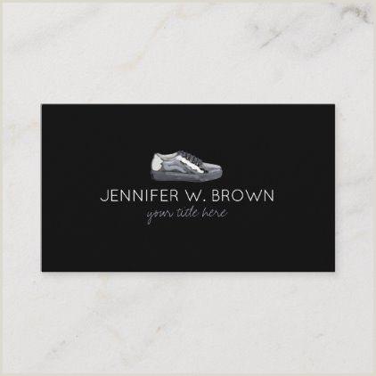 Unique Business Cards For Shoe Store Sport Shoes Fashion Business Card Zazzle