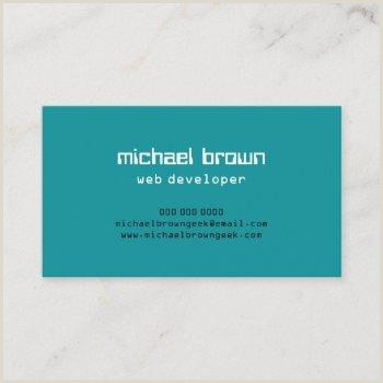 Unique Business Cards For Software Developers Software Development Business Cards