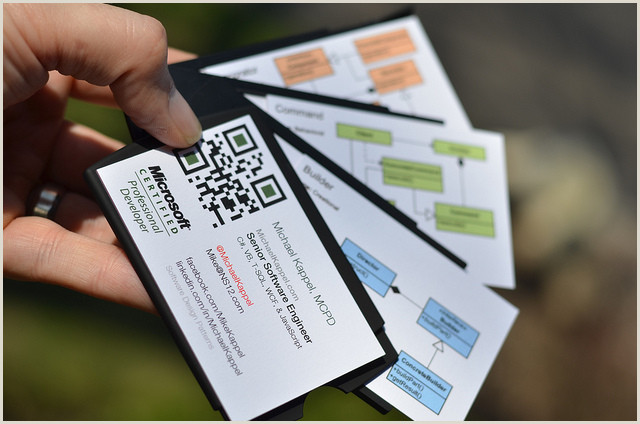Unique Business Cards For Software Developers Software Engineer Web & Mobile Developer Business Card