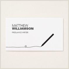 Unique Business Cards, Freelancer 100 Writer Business Cards Ideas