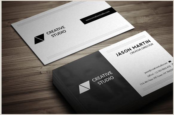 Unique Business Cards Front And Back 30 Best Business Card Templates Psd Design Freebie