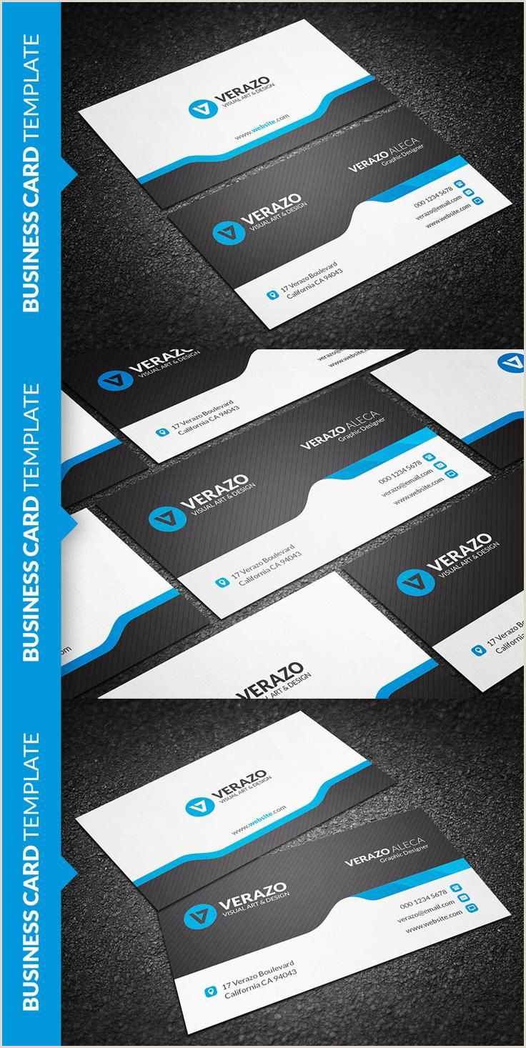 Unique Business Cards Front And Back Creative & Modern Business Card