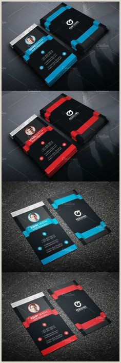 Unique Business Cards Hipster Personal 100 Best Business Card Templates Images