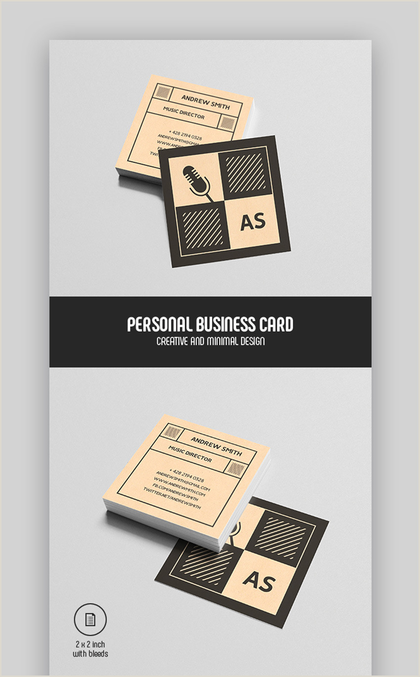 Unique Business Cards Hipster Personal 25 Best Personal Business Cards Designed For Better