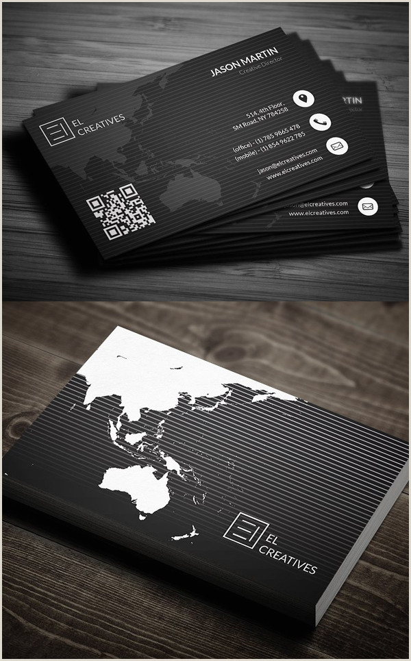 Unique Business Cards Hipster Personal 80 Best Of 2017 Business Card Designs Design