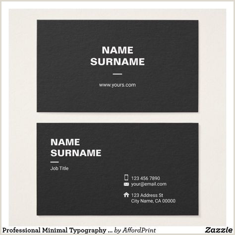 Unique Business Cards Materials 100 Minimalist Business Card Ideas In 2020