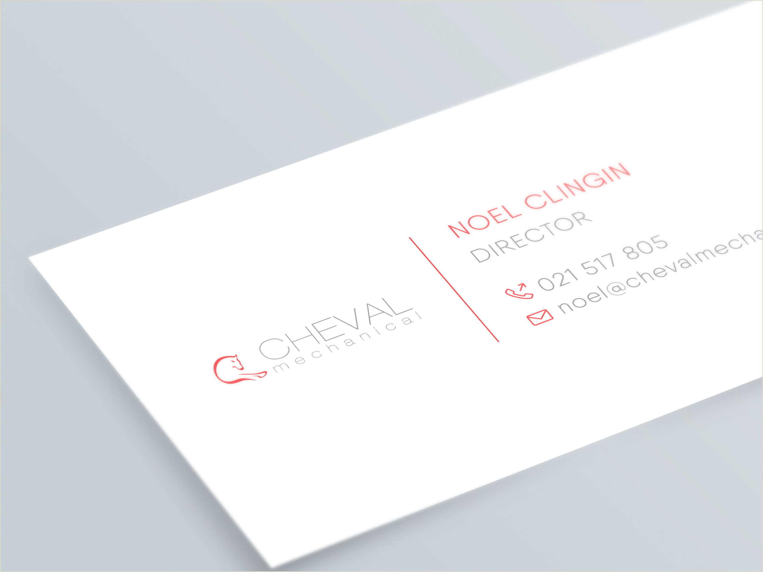 Unique Business Cards Mechanical Business Card Design In 2020