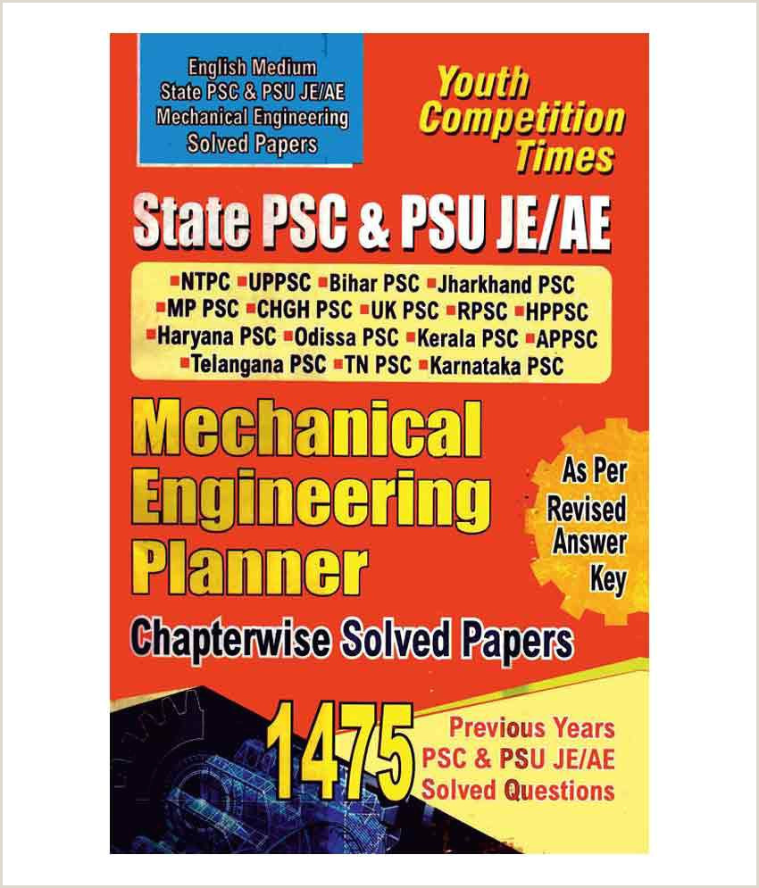 Unique Business Cards Mechanical State Psc Psu Je Ae Mechanical Engineering Planner