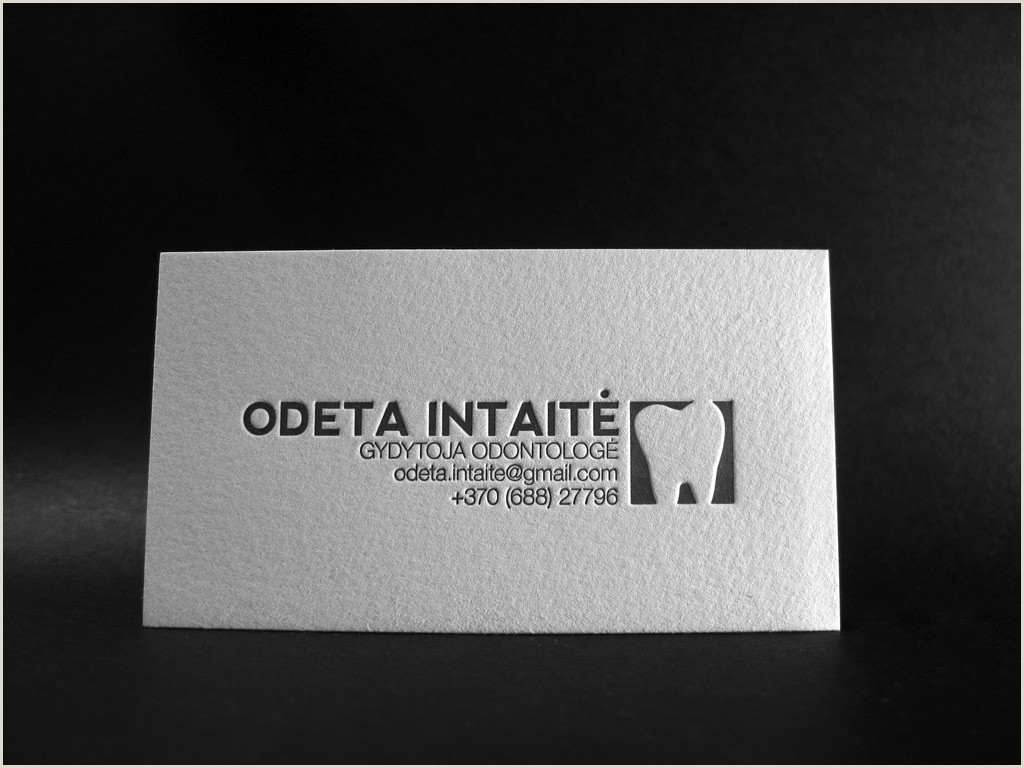 Unique Business Cards Raised Embossed Logo 26 Creative Embossed Business Cards For Inspiration