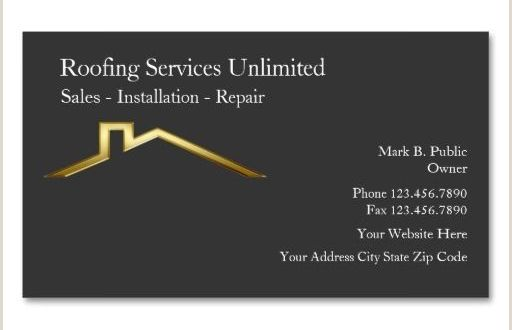 Unique Business Cards Roofing Roofing Construction Business Cards