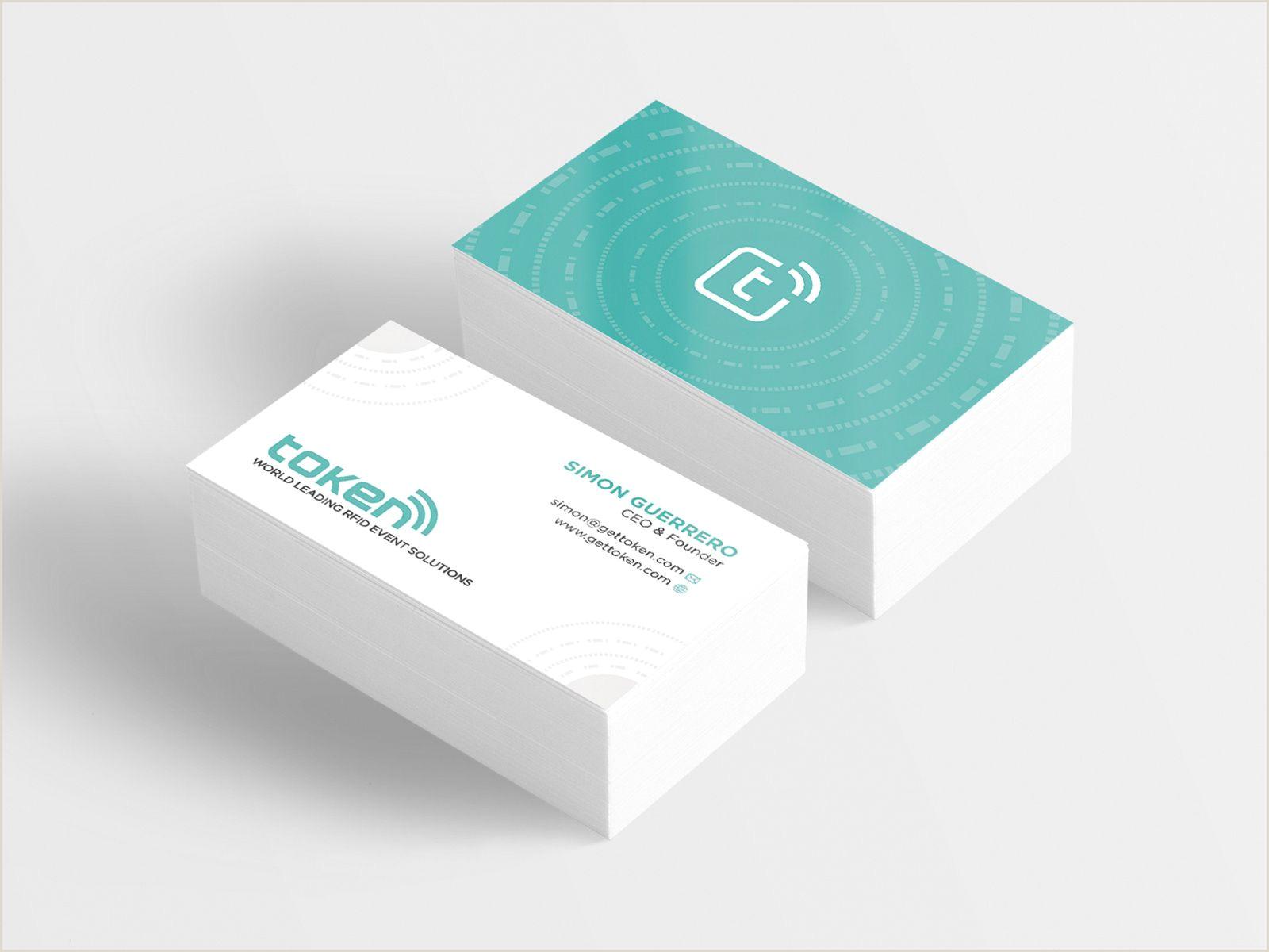 Unique Business Cards Tokens Token Card Design