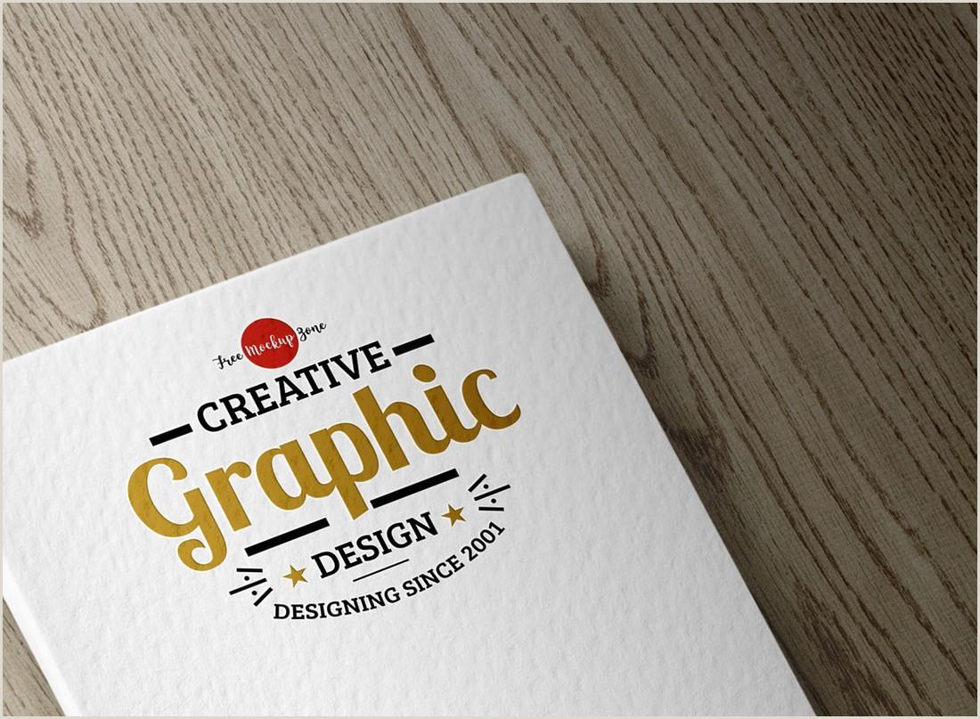 Unique Business Cards Wood Plasctic 100 Logo Mockup Templates Psd & Vector