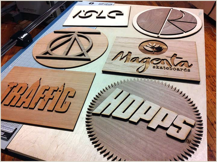 Unique Business Cards Wood Plasctic 20 Crafty Uses For A Laser Engraver And Cutter