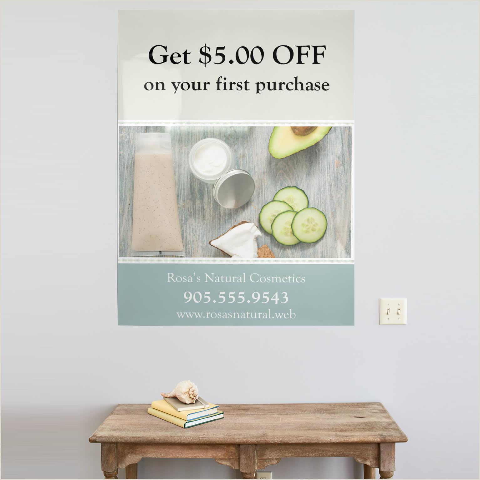 Unique Business Cards Wood Plasctic Posters