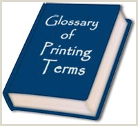 Unique Business Cards Wood Plasctic Printing Terms And Graphic Design Terms Glossary