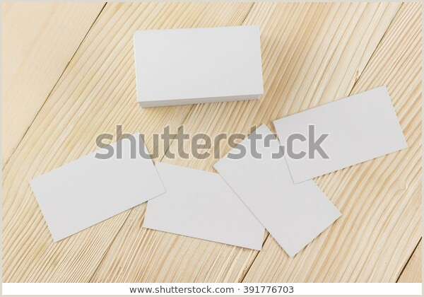 Unique Business Cards' White Blank Business Visit Card Gift