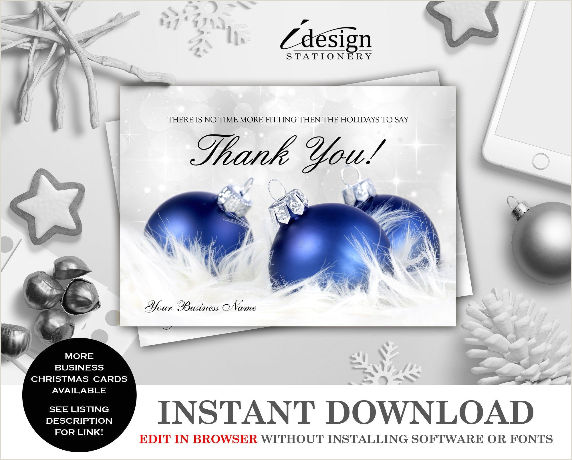 Unique Business Christmas Cards Ideas 50 Business Holiday Thank You Cards Ideas