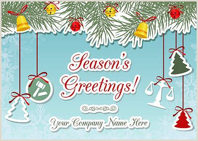 Unique Business Holiday Greeting Cards Attorney Ornaments Christmas Cards For Your Business