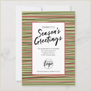 Unique Business Holiday Greeting Cards Business Holiday Cards