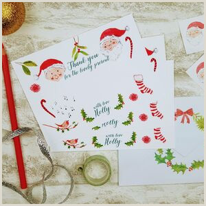 Unique Business Holiday Greeting Cards Christmas Thank You Cards