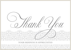 Unique Business Thank You Cards Business Thank You Cards By Cardsdirect