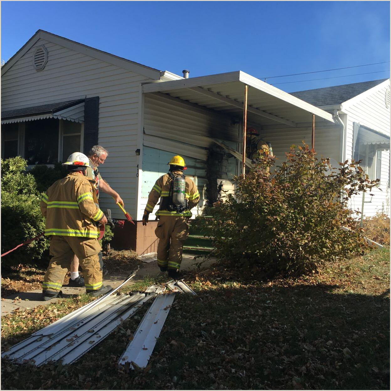 Unique Business Thank You Cards House Fire On Iowa Avenue Local News