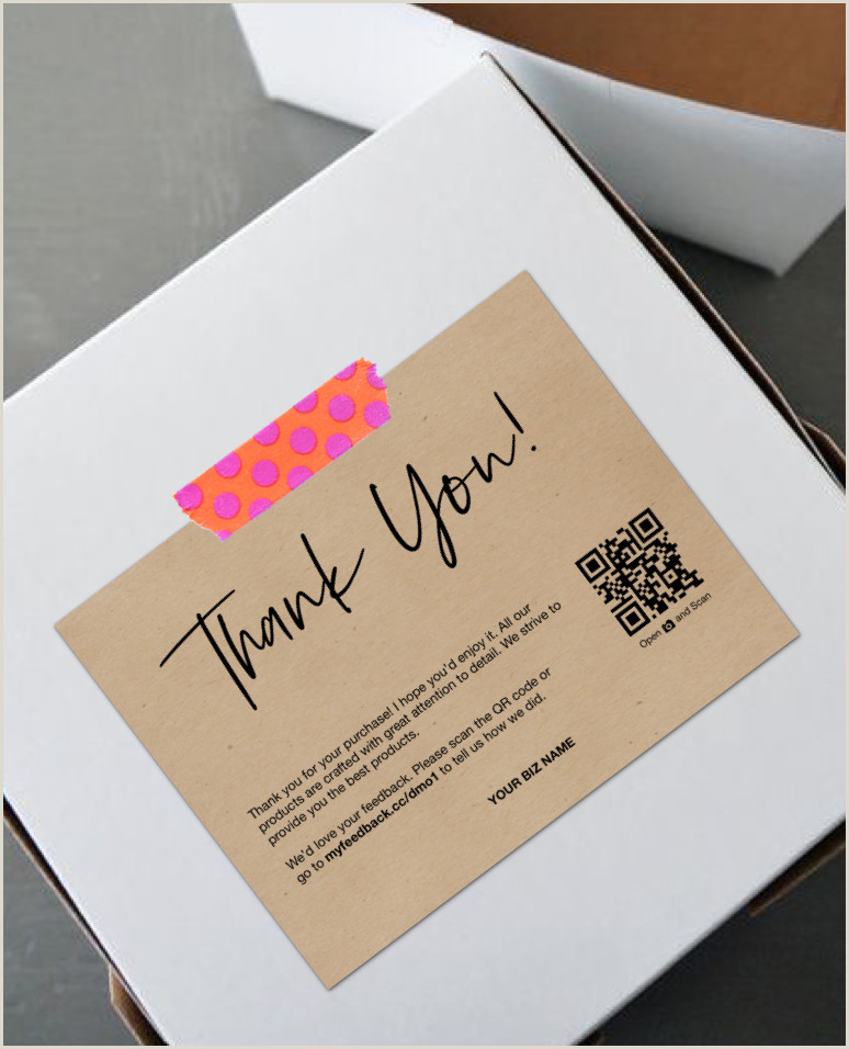 Unique Business Thank You Cards Pin On Thank You For Your Order Cards