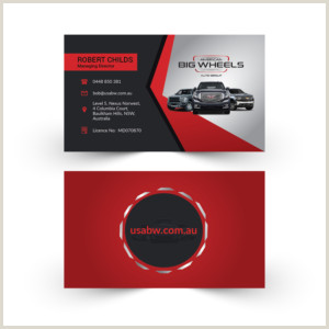 Unique Car Dealership Business Cards Car Dealer Business Cards