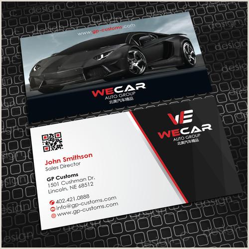 Unique Car Dealership Business Cards Car Dealership Needs Logo And Business Cards