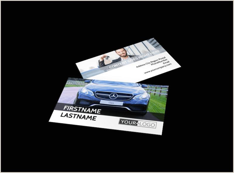 Unique Car Dealership Business Cards Luxury Auto Dealer Business Card Template