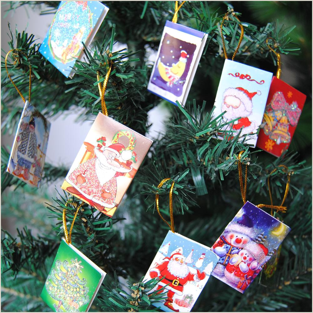 Unique Christmas Cards For Business Christmas Mini Greeting Cards Diy Blessing Christmas Tree