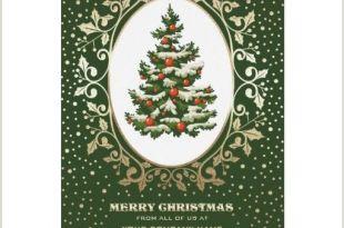 Unique Christmas Cards for Business Merry Christmas Elegant Festive Christmas Tree Design with