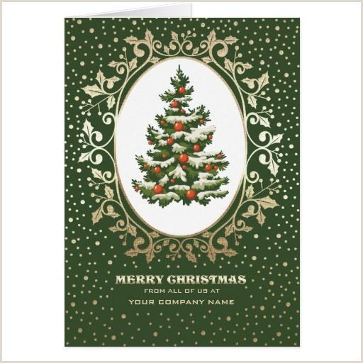 Unique Christmas Cards For Business Merry Christmas Elegant Festive Christmas Tree Design With