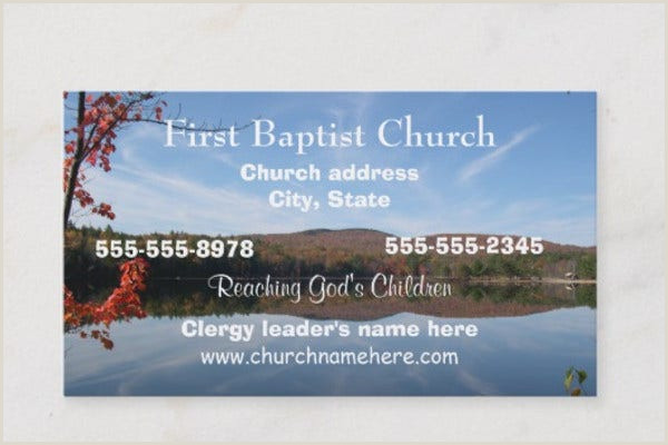 Unique Church Business Cards 17 Best Church Business Card Templates In Pdf Doc