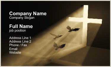 Unique Church Business Cards Christian Business Card Designs 15 Samples To Inspire You