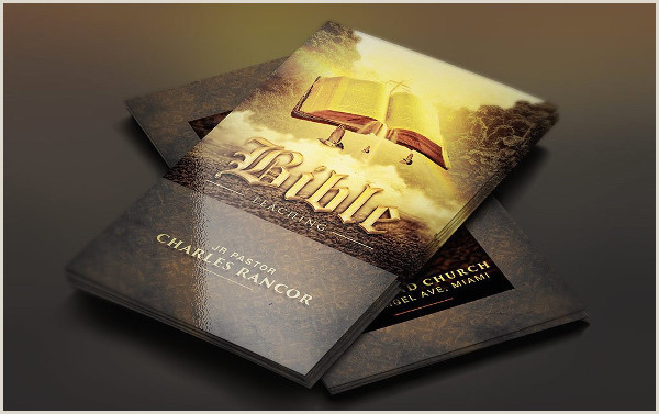 Unique Church Business Cards Church Business Card Template 25 Free & Premium Download
