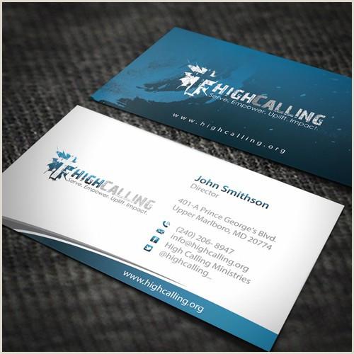 Unique Church Business Cards Design A Modern Business Card Design For A Church Called