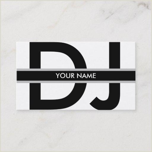 Unique Dj Business Cards Dj Business Card Zazzle