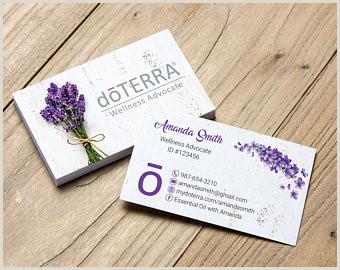 Unique Doterra Business Cards Doterra Business Cards