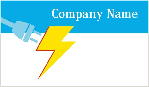 Unique Electrician Business Cards Electrician Business Cards