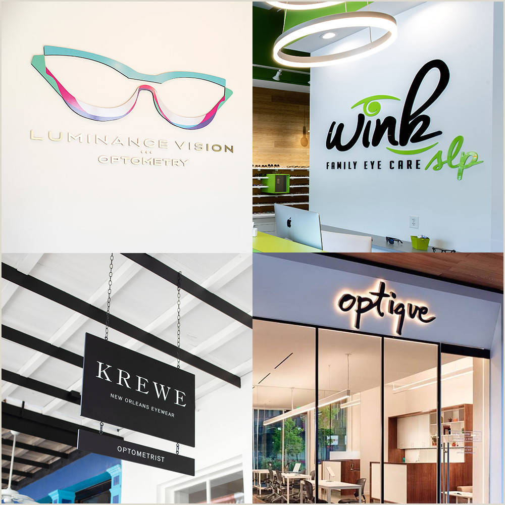 Unique Eyecare Business Cards 11 Versatile Eye Business Logos That Attract Clients In Many
