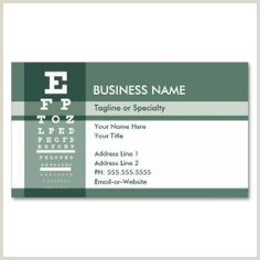 Unique Eyecare Business Cards 200 Eye Doctor Business Cards Ideas