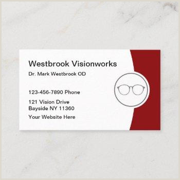 Unique Eyecare Business Cards Optometrist Eye Care Business Cards