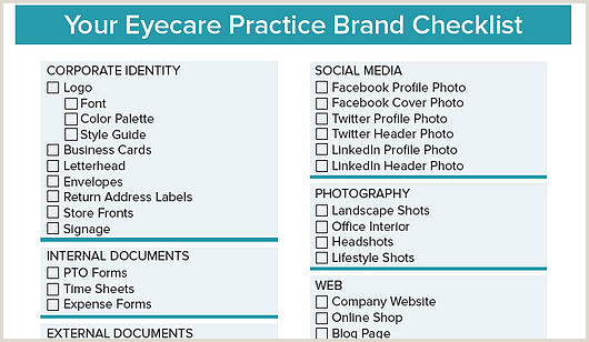 Unique Eyecare Business Cards The Ultimate Branding Checklist Every Eyecare Practice Needs