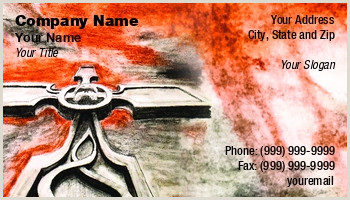 Unique Funeral Home Business Cards Funeral Services Business Cards