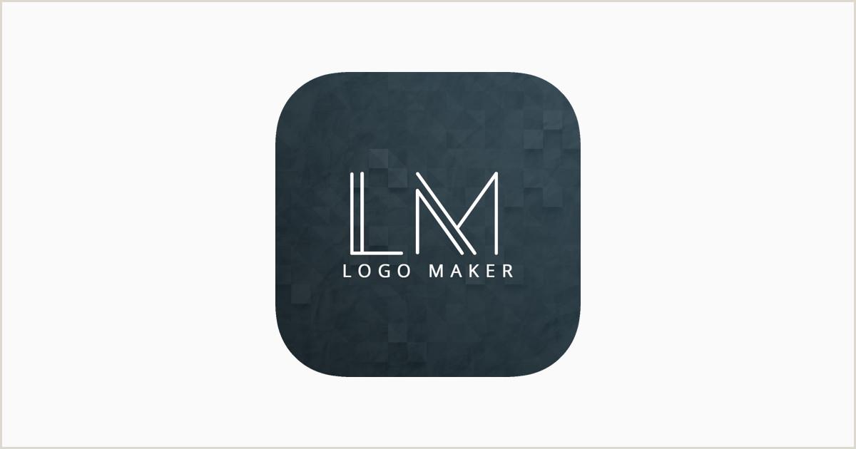 Unique Graphic Business  Cards Logo Maker Design Monogram On The App Store