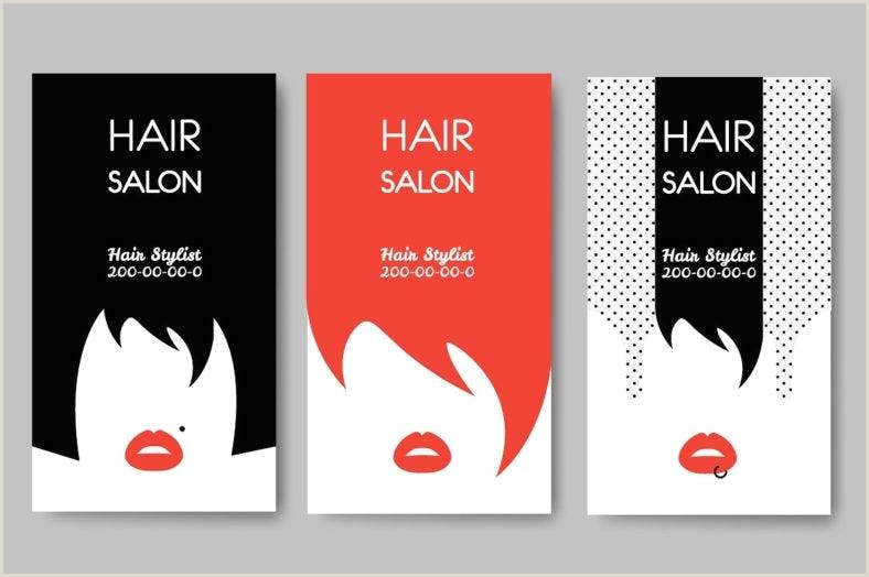 Unique Haircut Templates For Business Cards Front Ans Back 19 Hair & Fashion Business Card Psd Ai Word