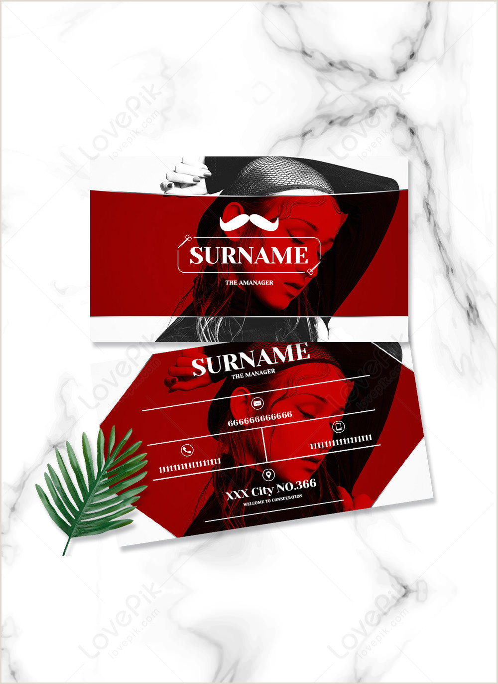 Unique Haircut Templates For Business Cards Front Ans Back Haircut Hairline Line Creative Business Card Template